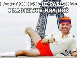 """""""Rama magjepsi Parisin"""", memet për kryeministrin thyejnë rrjetin(FOTO)"""