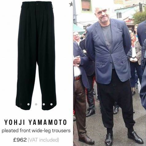 Image result for edi rama yamamoto