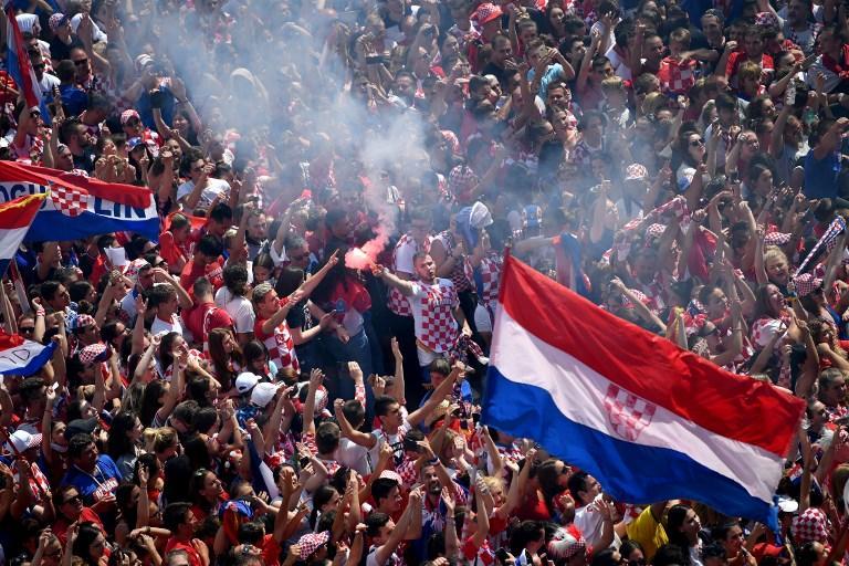 FOTO/ Kroacia në festë, pret heronjtë e saj