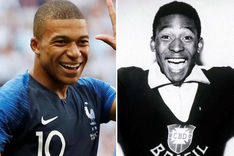 Pelé elozh Mbappé: Francezi i përgjigjet kështu…