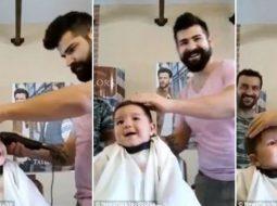 VIDEO/ Ky fëmijë ka shkuar për herë të parë tek berberi, por…