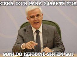 'Të kisha ikur para 6 muajsh, sot Goni do ishte në shtëpi…', humor i zi në rrjet me largimin e Xhafës (FOTO)