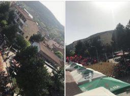 FOTO/ Dështon mitingu i Ramës në Përrenjas
