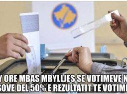"""""""Kosova shpall rezultatin pas 10 orësh, Shqipëria pas 27 ditësh"""", plas ironia në rrjet (FOTO)"""