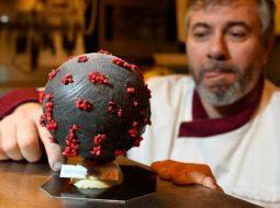"""FOTO/ Në Francë krijohet torta me emrin """"Coronavirus"""""""