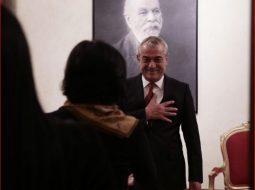 FOTO/ Gruaja e vetme që Gramoz Ruçi i buzëqesh në publik