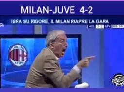 VIDEO/ Festa e çmendur e Crudelli për fitoren e Milan ndaj Juves