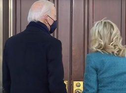 VIDEO/ Joe Biden nuk hap dot derën e Shtëpisë së Bardhë
