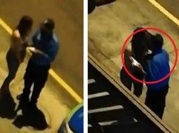 Shkeli orën policore/ Vajza tundon policin, e puth në buzë dhe i shpëton gjobës! (VIDEO)