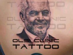 Çmenduria e mandatit të tretë/ Tatuazh fytyrën e Ramës në trup (FOTO)