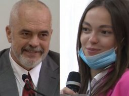 """VIDEO/ """"Pyetje s'kam, po ti je ikonë e modës"""" Kompliment live për Ramën nga studentja e Prishtinës"""